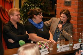 """Пресс-конференция мюзикла """"ОНЕГИН"""" 30.09.2015 г."""