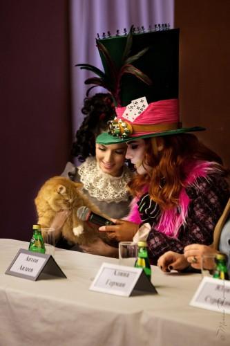 """Предпремьерная пресс-конференция мюзикла """"Алиса в стране чудес"""""""